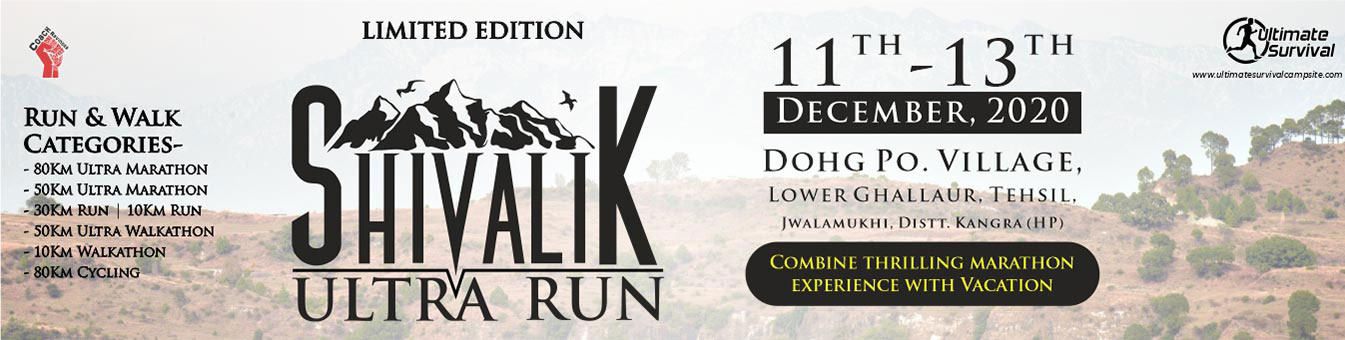 Shivalik Ultra Run 2020, Coach Ravinder Gurugram