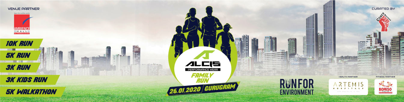 Alcis Family Run Gurugram, India Running Events, Coach Ravinder Gurugram