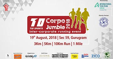 Corpo Jumble Run 2018, Past Events - India Running Events