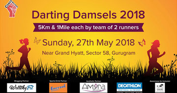 Darting Damsels 2018, Past Events - India Running Events