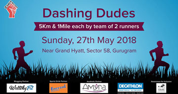 Dashing Dudes 2018, Past Events - India Running Events