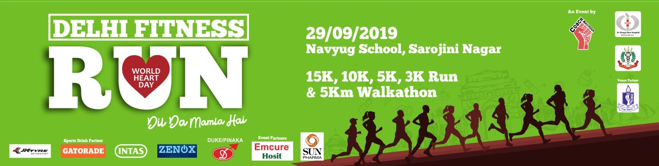 Delhi Fitness Run, Sunday, 29 Sep 2019, Sarojini Nagar, New Delhi, Delhi Running Event