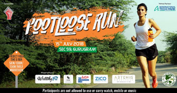 Footloose Run 2018, Past Events - India Running Events
