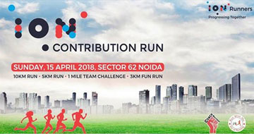 ION Contribution Run, Past Events - India Running Events