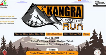 The Kangra X-Country Run & MTB Challenge 2018, Past Events - India Running Events