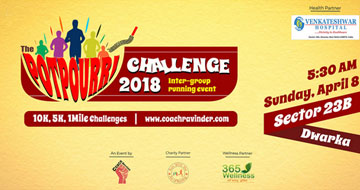 The Potpourri Challenge 2018, Past Events - India Running Events
